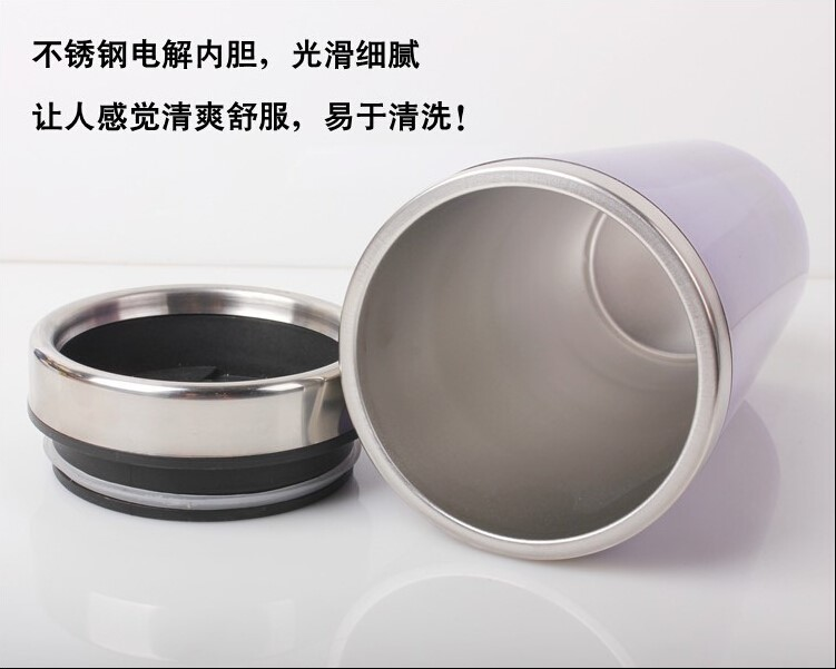 Wholesale double wall coffee cup for travel, stainless steel water cup, free joyshaker cup sale