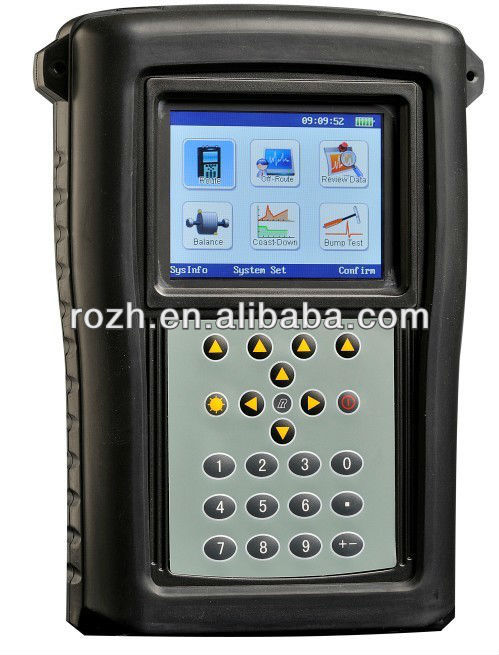 Anhui ROZH Portable Dual-channel Spectrum analyzer, handheld Vibration analyzer