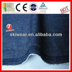 wholesale cotton stretch faded cost of denim fabrics