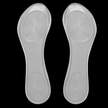 One pair of party feet massage gel insoles with arch support for ladies