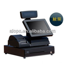 17 Inch LED Touch Screen All in One Pin Pad Wireless POS Terminal