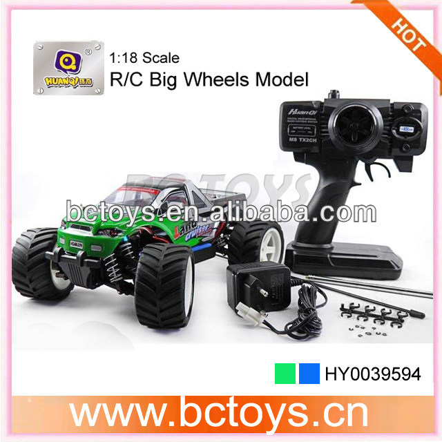 HQ 1:18 scale big wheels model rtr electric rc monster truck for sale HY0039594