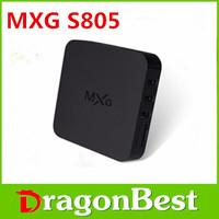 android media player 4K Tv Box Mxg/Mxv/Mxg Pro S905 Android 5.1 Tv Box 1G/8G full hd 1080p