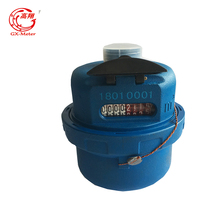 4-4 Reading data Positive displacement flow meter Volumetric Rotary Piston Water Meter from Gaoxiang Factory