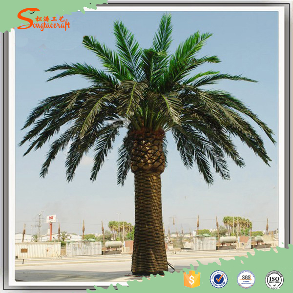 china supplier wholesale artificial date palm tree for garden decor buy outdoor decorative. Black Bedroom Furniture Sets. Home Design Ideas