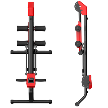 Integrated Gym Trainer Rower Machine With Total Core Fitness Equipment Machine