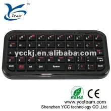 NEW HOT SELL 2012 Fashionable Mini bluetooth keyboard with touchpad for ipad/iphone