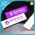Vograce Custom blank magnetic stainless steel name badge for promotional