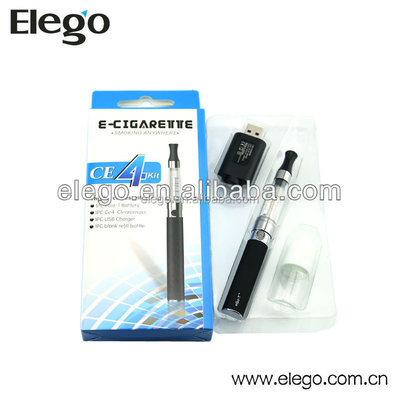 2014 hot selling electronic cigarette SLB ce4 starter kit with best price