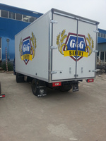 vegetable refrigeration truck van bodies for sale/ insulated van body/dry cargo box van truck