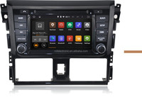 Android 4.4 car dvd gps For TOYOTA VIOS / YARIS Sedan 2013 Third generation Car DVD Radio Stereo GPS Navi 3G WIFI 1024X600