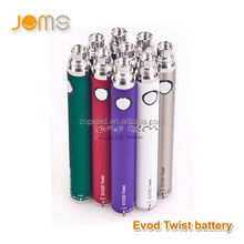 Electronic Cigarette 650mah 900mah 1100mah 1300mah e-cig Evod twist battery