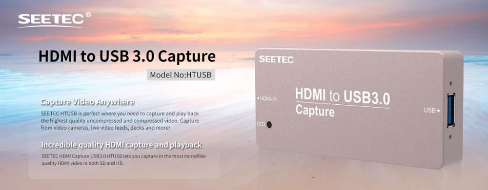 SEETEC Aluminium case mini signal converter HDMI capture for live broadcast