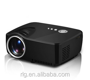 Digital Led Projector LCD 19.5*16.0*8.2 Android,IOS 1200 Lumens Small Size