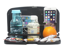 Collapsible Plastic Car seatback food tray