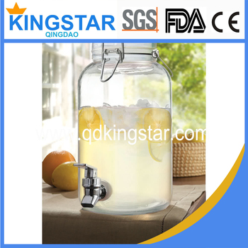drink dispenser glas