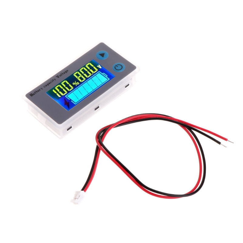 10-100V Universal LCD Car Acid Lead Lithium Battery Capacity Indicator Digital Voltmeter Voltage battery monitor display JS-C33