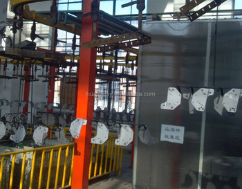 Reliable Quality Automatic Powder Coating Plant Made in China