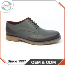 Grain Leather Upper Custom Made Elegant Big Size Men Shoes
