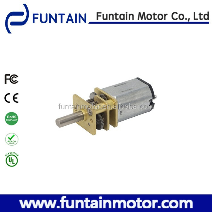 6v 3000rpm 12mm metal gearbox motor 12GFN20 with strong gears for medical equipment, Robots, Lego Bots, Door lock