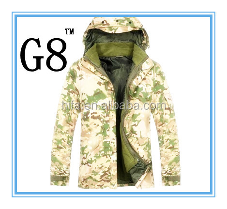 US SIZE XXL US Military Style ECWCS PARKA Water proof wind proof Jacket security water proof jacket