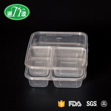 1000ml Special custom disposable bento lunch box leakproof