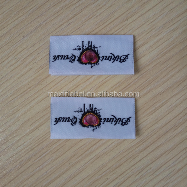 china factory custom made the best handmade woven clothing label