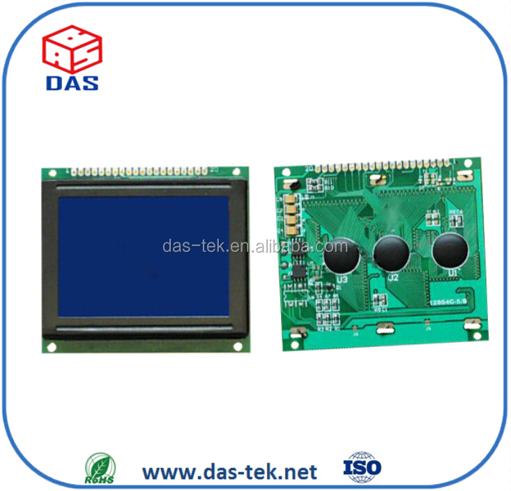Graphic lcd module 128x64 STN negative Transmissive Blue LCD