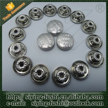 Blank button badge wholesale screw jean button