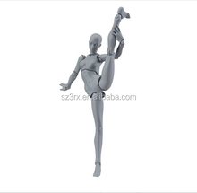 Female Nude Movable Joint Plastic Action Figure Designer/Wholesale Naked Body Figure /Custom Design 1:6 Scale PVC Action Figures