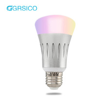 IOT Smart Home Wifi Remote Control RGBW Color Dimming LED Energy Saving Light Bulb for Family Atmosphere