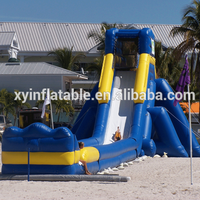 Factory outlet dubai water slide with long slip
