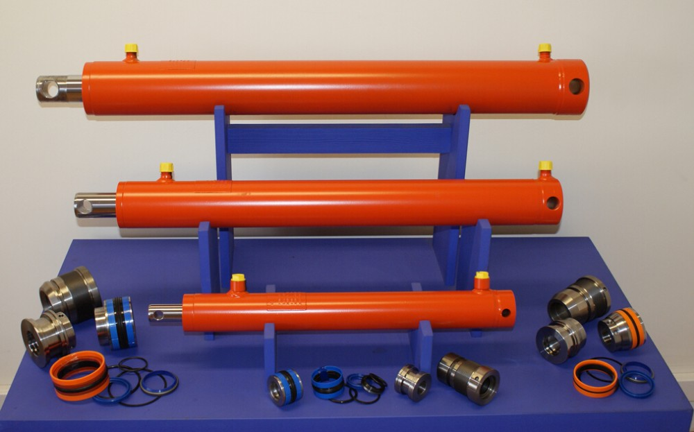 Double Acting Dump Truck Telescopic Hydraulic Cylinder