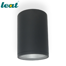 12w cob surface mounted pillar decorative led ceiling spot lights for indoor