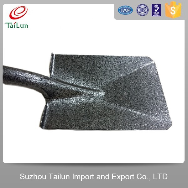 TaiLun Plastic Coated Heated Carbon Steel Hand construction shovel/potato shovel