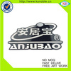 ABS material Chrome car badges auto emblems