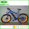 Full suspension 750w 15.6ah electric mountain 26x4.0 fat tire electric bike
