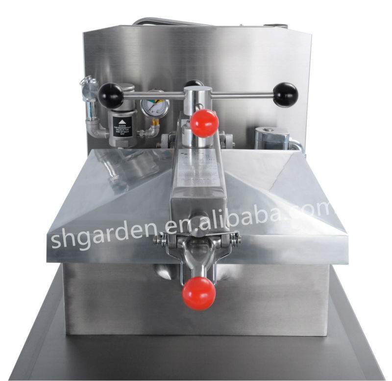 commercial electric chicken pressure fryer with filtration system used for fast food restaurant