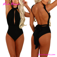 Plus size black blue pink one piece very popular korean hot sex swimsuit