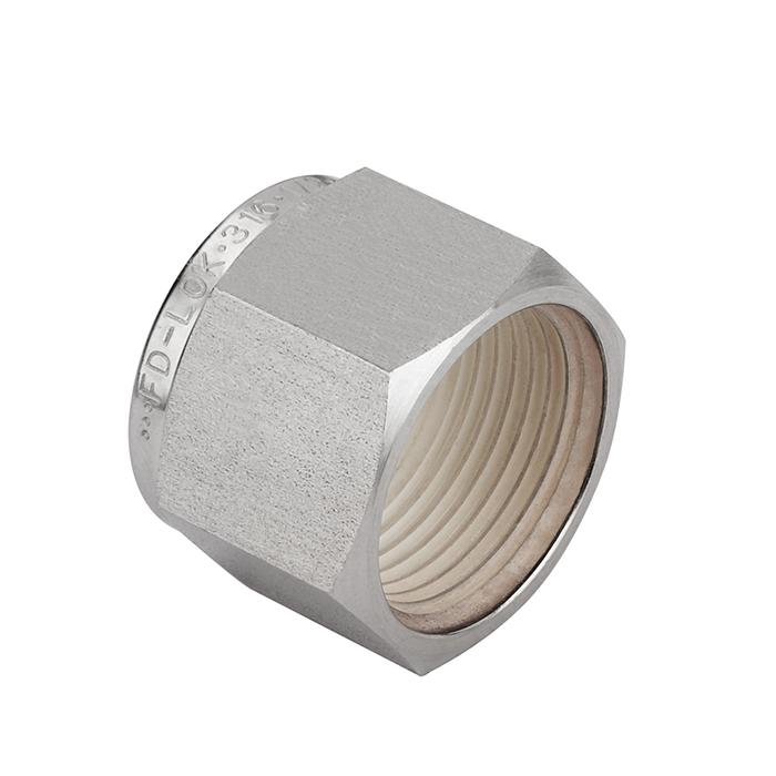 Stainless Steel Flared Pipe Fittings, Tube Caps