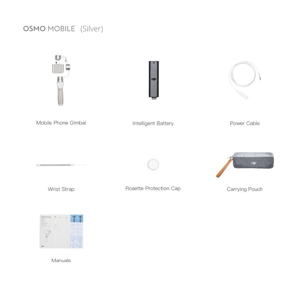 Wholesale DJI Osmo Mobile Silver for Smartphone