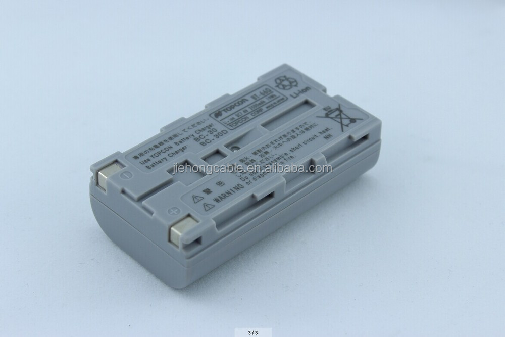Compatible rechargeable battery BT-66Q for Topcon RC-3
