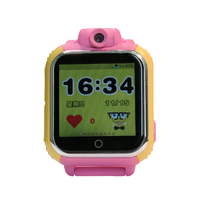 3g mini personal gps tracker watch/bracelet tracker small kids gps tracker with app tracking and sos