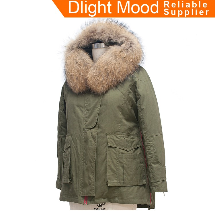 Young ladies fashion coats,winter coat woman,parkas with fur hood