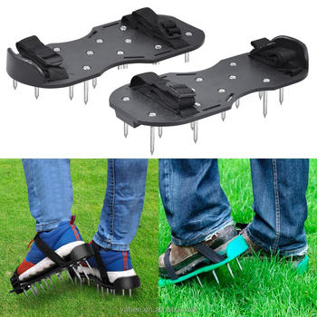 Garden Lawn Aerator Aerating Sandals/Shoes 13 x 4.5cm Spikes