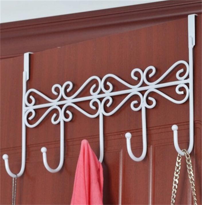 N191 decorative over door clothes hanger creative hook for Perchas para colgar llaves
