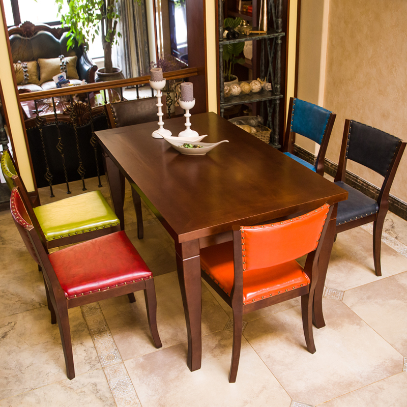 New designed Hot quality antique table and chair used for restaurant