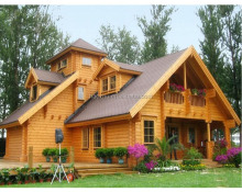 High quality log cabin kit wooden home prefabricated wooden house
