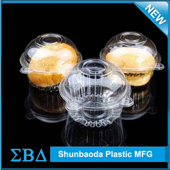 custom cake box double blister, plastic clamshell packaging for Egg tarts