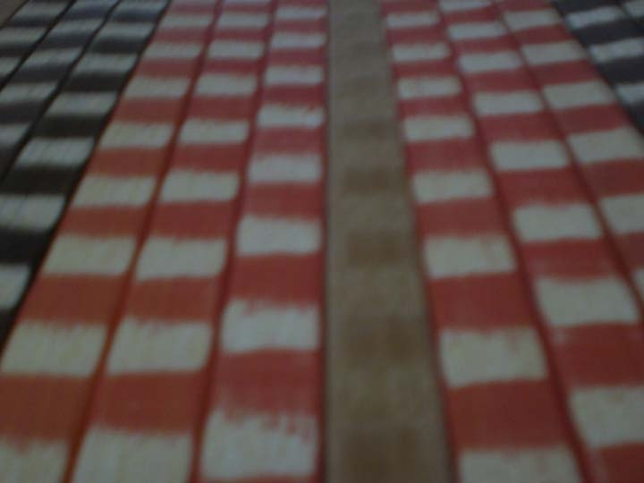 colorful bamboo carpet,table mat